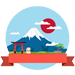 富士山赏雪