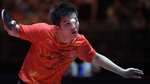 樊振东vs张本智和(刘国梁解说) 2018乒乓球团体世界杯男团决赛