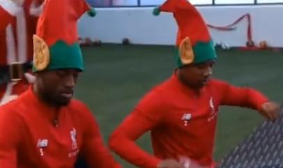 来自利物浦的圣诞快乐  圣诞节就是要快乐的玩