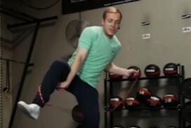 高手跳绳就是不一样  硬是没看懂是怎么解开的