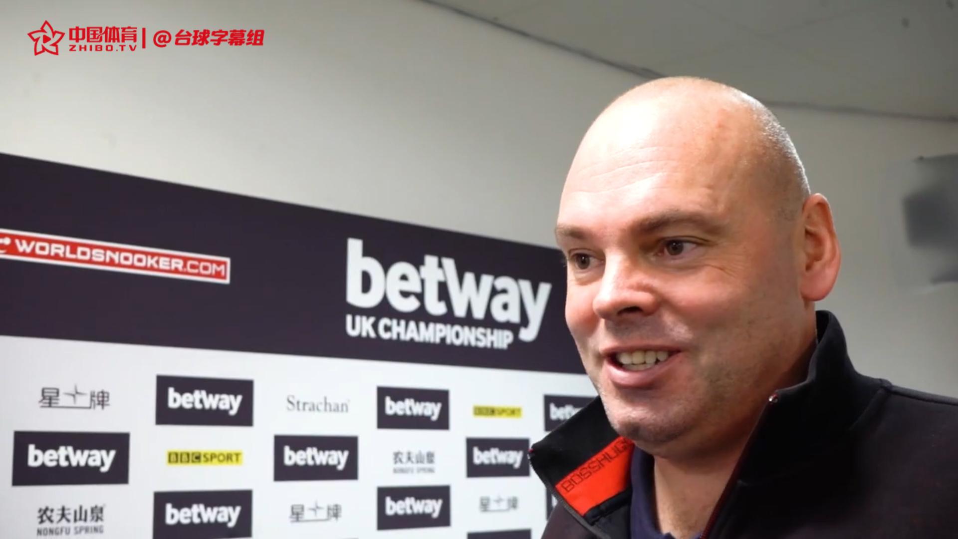 宾汉姆毫不吝惜赞扬雷佩凡:看他和奥沙利文对决就知道不一般 用尽我的经验才晋级    2019英锦赛