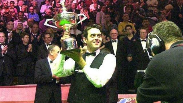 曾一轮游,征战九年终夺首冠:2001年18-14希金斯 | 奥沙利文世锦赛6冠