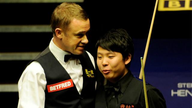 2010斯诺克世锦赛第一轮:斯蒂芬·亨德利vs张安达