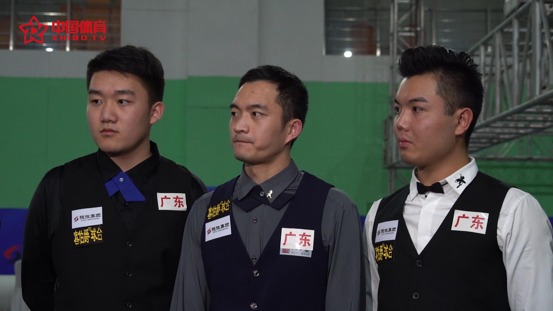 团体赛冠军广东队:方雄慢目标重回职业赛,白朗宁备受鼓舞,黄佳浩用了15年的努力