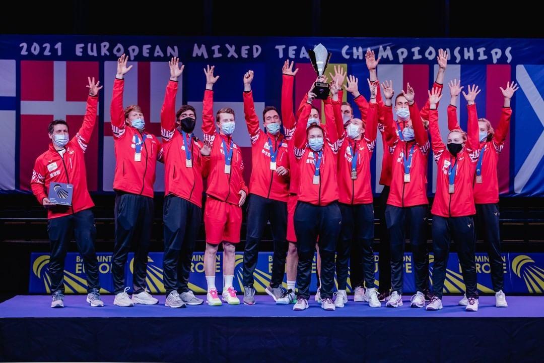 丹麦队连续第四次问鼎欧洲混合团体锦标赛