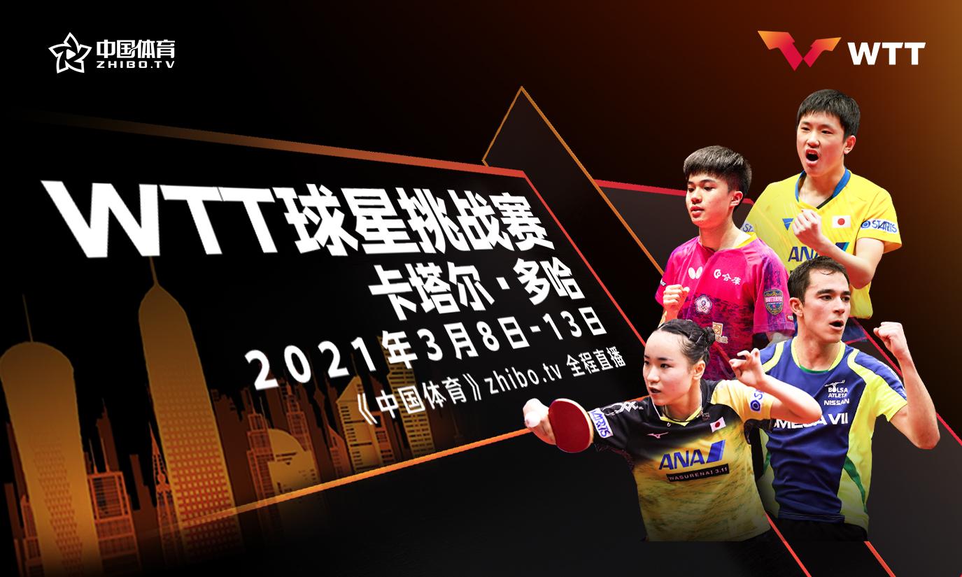 WTT球星挑战赛 张本智和伊藤美诚夺冠