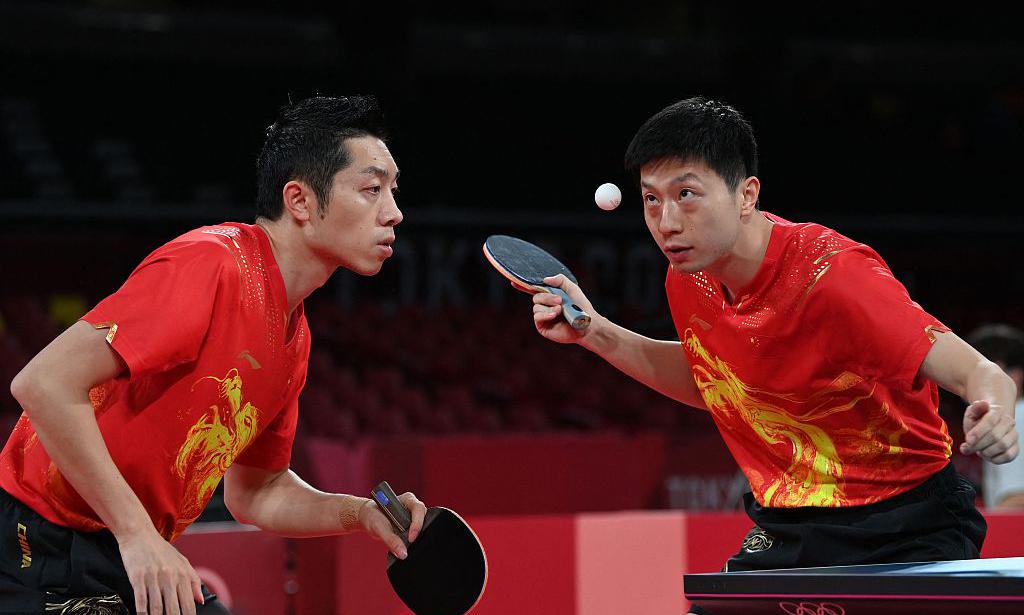 【乒乓球】中国男团完爆韩国进决赛