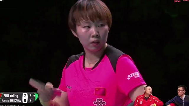 朱雨玲vs石川佳纯 (刘国梁解说) 2018乒乓球世界杯团体世界杯女团决赛