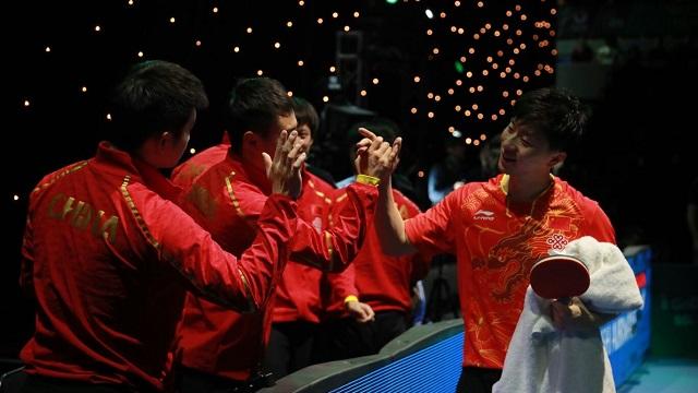 中国vs日本(刘国梁解说)  2018乒乓球世界杯男团决赛