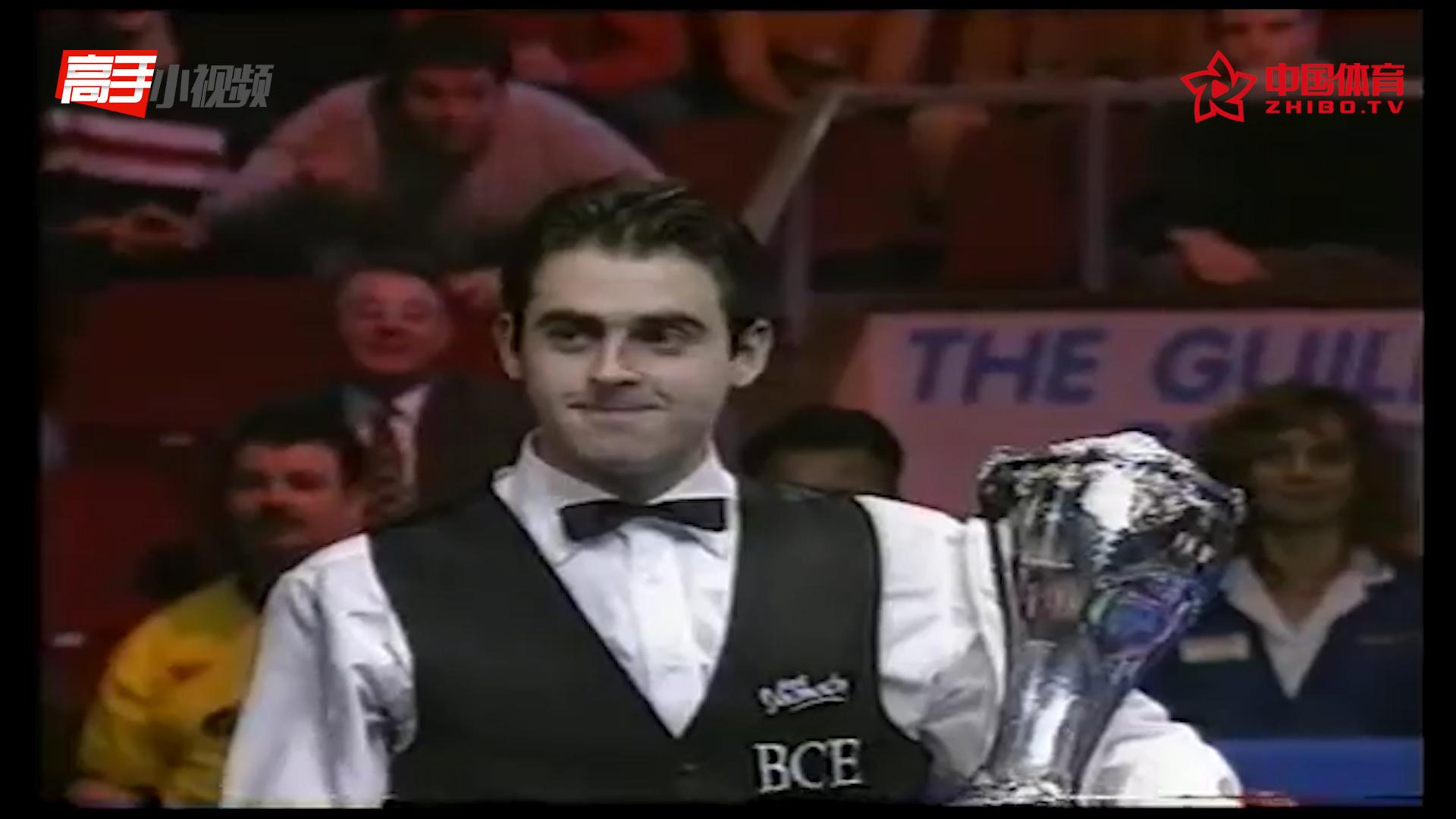 #奥沙利文排名赛33冠记录#(五):1997英国锦标赛10-6亨得利,奥沙利文再截胡
