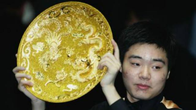 #丁俊晖职业生涯回顾#(一) : 2005中国公开赛9-5斯蒂芬·亨得利