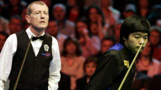 #丁俊晖职业生涯回顾#(二) : 2005英国锦标赛10-6史蒂夫·戴维斯