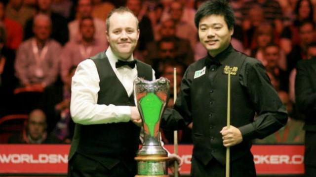 #丁俊晖职业生涯回顾# (四):2009英国锦标赛10-8希金斯