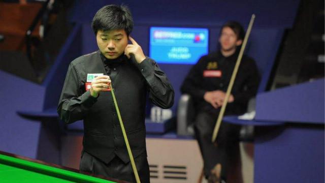 #丁俊晖职业生涯回顾# (六):2011世锦赛半决赛对阵特鲁姆普第29局