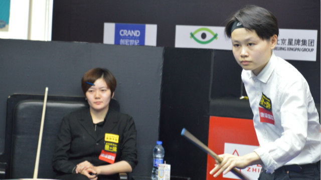 中国精英赛 | 这不只是一场台球比赛,更是一场发夹之争