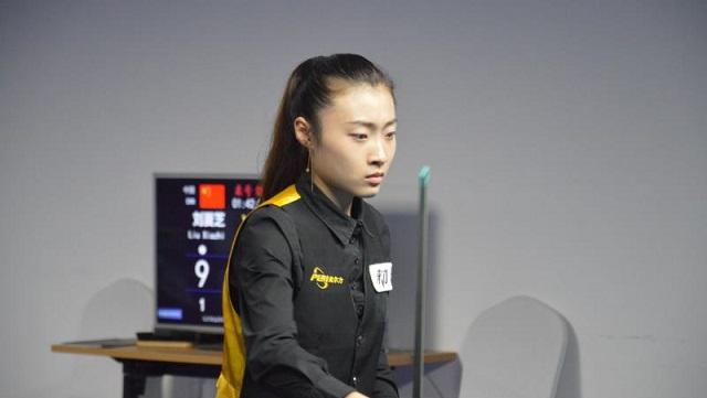 中国精英赛 | 女子组刘夏芝率先进入决赛 强势大逆转!