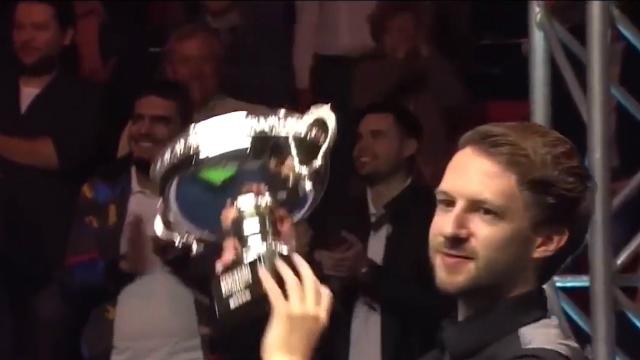 斯诺克进入欧洲大师赛时间 特鲁姆普志在蝉联三冠王
