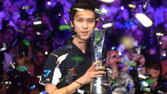 《台球表一表》单局赛新科冠军塔猜亚 盛世美颜终获排名首冠