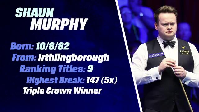 单赛季第2名:魔术师肖恩·墨菲斩获中国锦标赛、威尔士公开赛冠军   2020巡回锦标赛