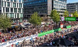 2019环德国自行车赛入口
