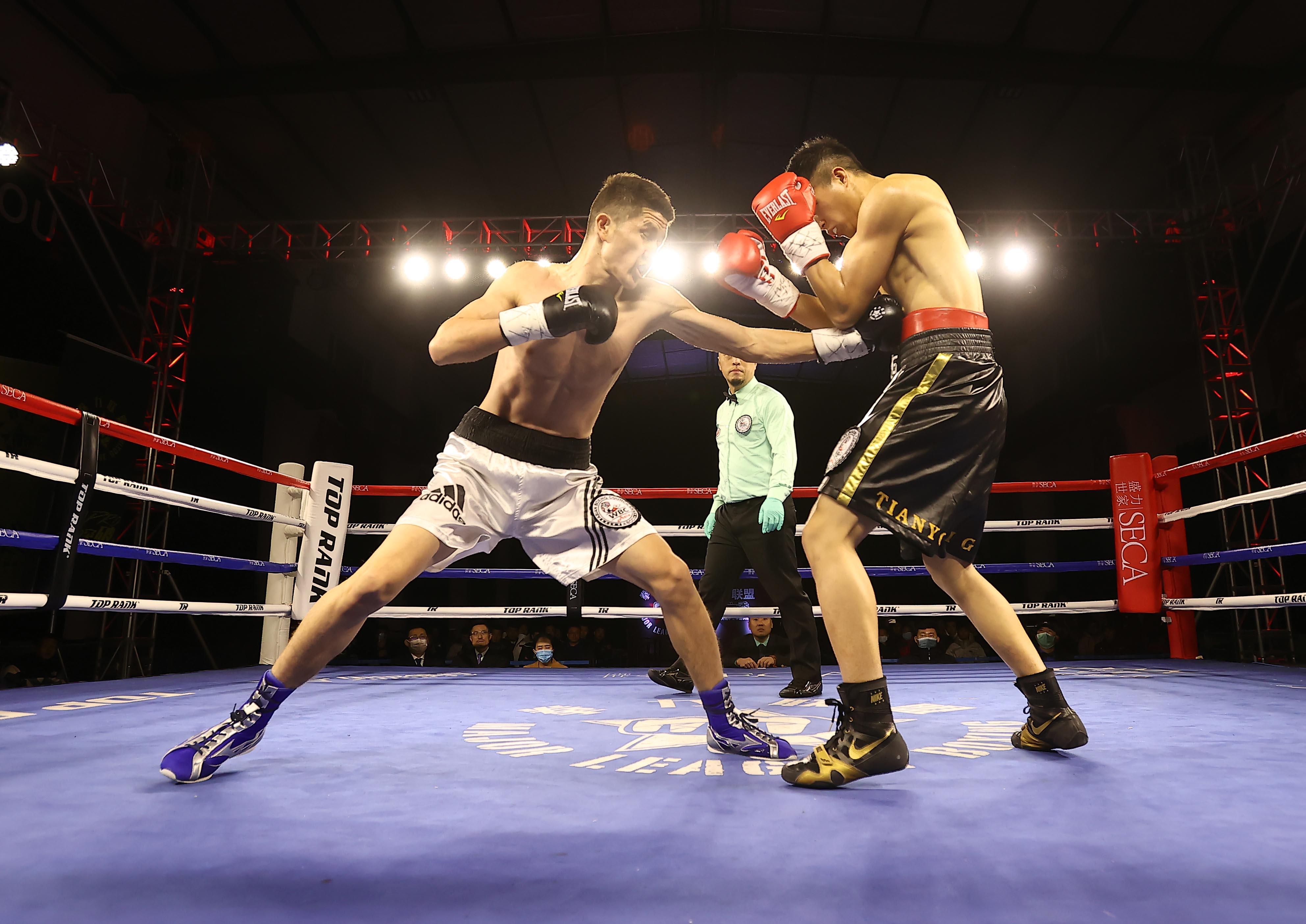 拳力联盟 | WBC洲际拳王争霸战!肯巴提、董有礼平局收场!