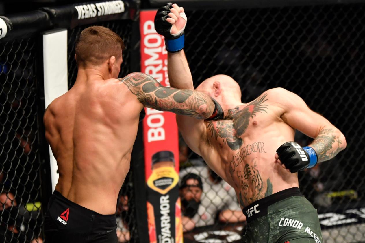 UFC | 大冷门!UFC257嘴炮第二回合被KO
