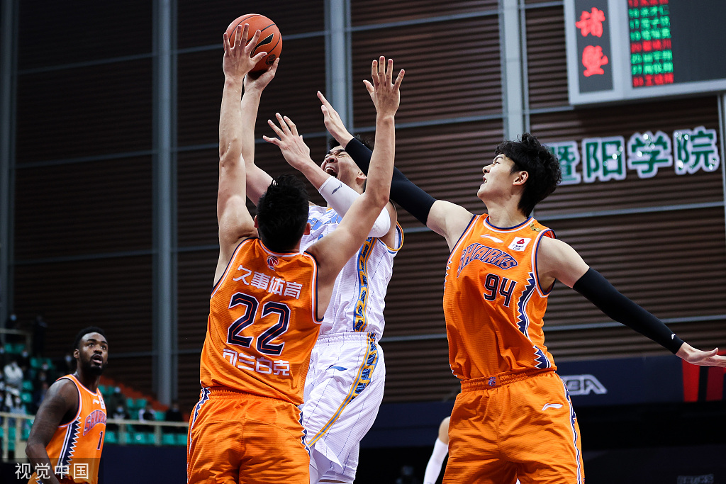 【CBA第3轮】北京送上海赛季首败;广厦力克山东获3连胜
