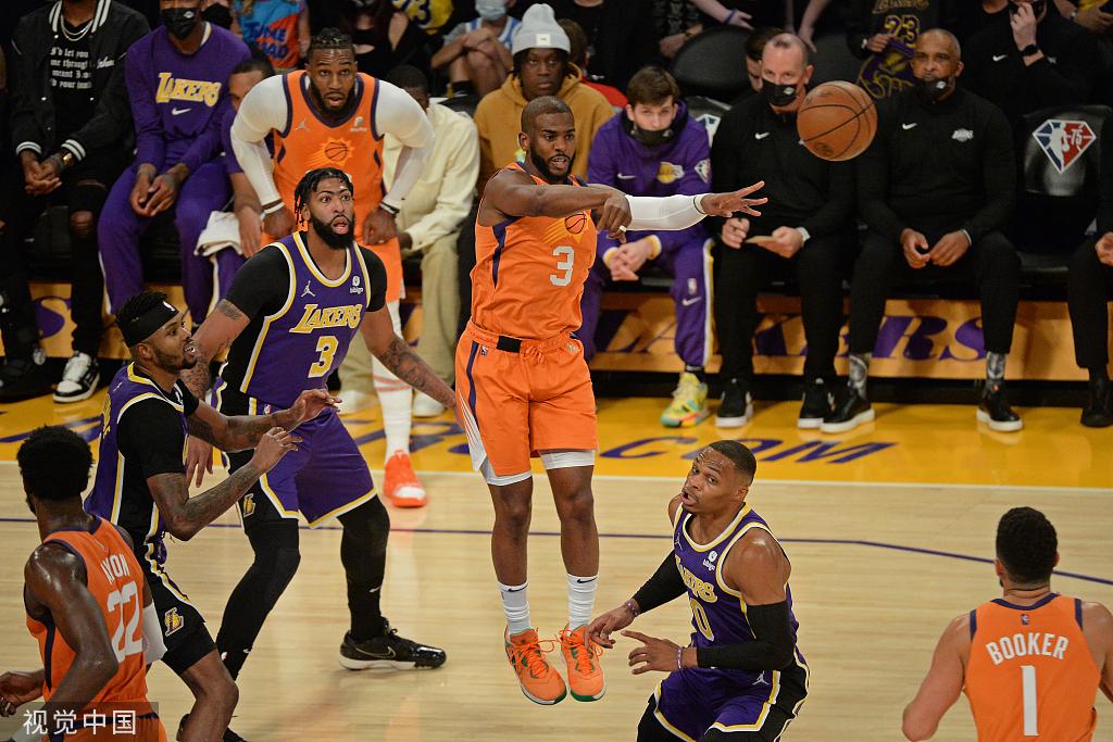 【NBA综述】太阳轻取湖人送其两连败;篮网客场逆转76人